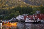 Photo Travel Destination Telegraph Cove Vancouver Island