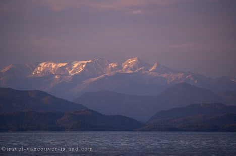 Photo: BC Coast Sunset