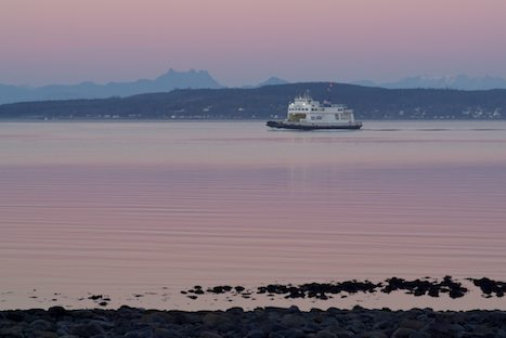 Photo: BC Ferries Tri Island Ferry Service Northern Vancouver Island