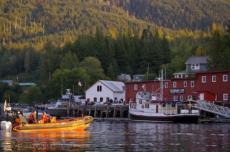 Photo: Travel Destination Telegraph Cove Vancouver Island