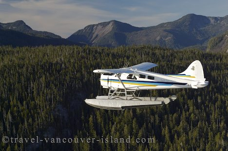 Photo: Flightseeing Vancouver Island