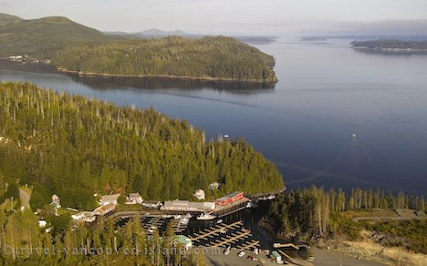 Photo: Vancouver Island Community Of Telegraph Cove Aerial