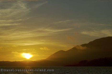 Photo: Nookta Sound Sunset West Coast Vancouver Island