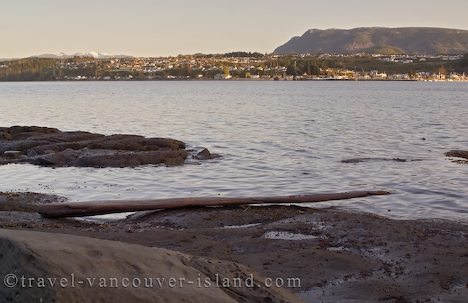 Photo: Port McNeill From Ledge Point BC