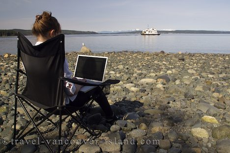 Photo: Business On The Port McNeill Beach British Columbia