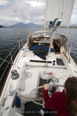 Photo: Sailing Nootka Sound