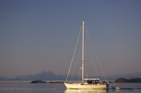 Photo: Johnstone Strait Sailing Northern Vancouver Island