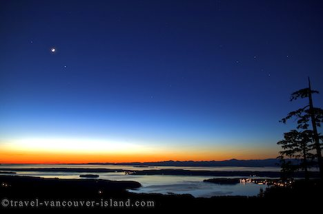 Stars In The Sky After A Mystical Sunset - Photo & Travel Idea New ...