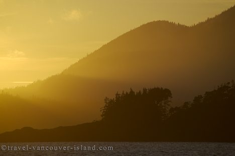 Photo: Sunset Nootka Sound