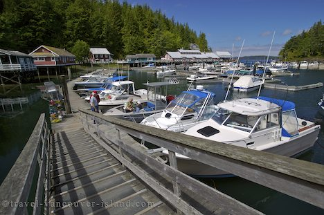 Photo: Telegraph Cove Vancouver Island