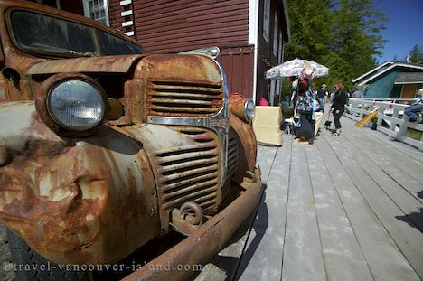 Photo: Telegraph Cove Johnstone Strait Picture British Columbia