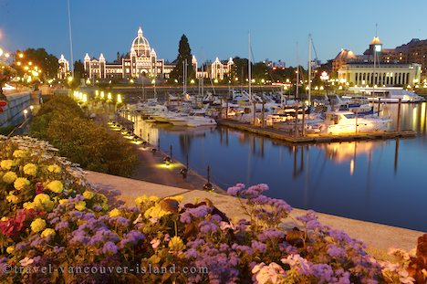 Photo: Victoria Waterfront Vancouver Island